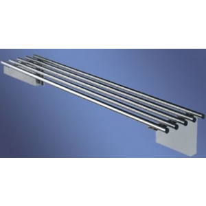 Simply Stainless SS11.1200 Pipe Wall Shelf
