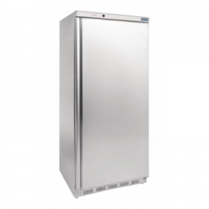 Polar CD083-A Single Door Upright Stainless Steel Freezer - 365L
