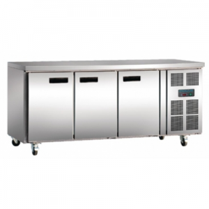Polar G597-A Three Door Kitchen Counter Fridge