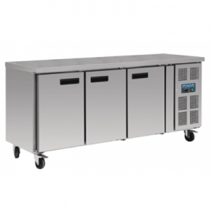 Polar G600-A Three Door Kitchen Counter Freezer