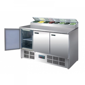 Polar G605-A Triple Door Refrigerated Prep Counter