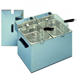Roller Grill RF 5 DS - 5 Litre Double Fryer