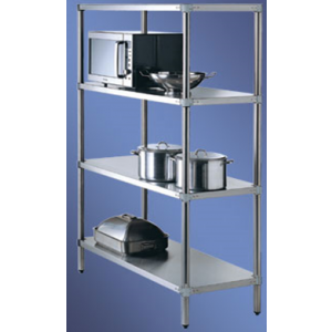 Simply Stainless SS17.1500SS 4 Tier Shelving