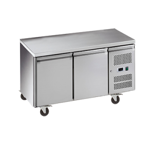 Exquisite SSC260H Snack Size Under Bench Chiller - Solid Doors