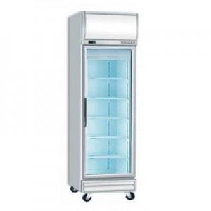 Bromic UF0500LF Single Glass Door Fan Forced Freezer w/Lightbox