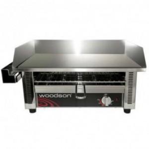 Woodson W.GDT75 Large Griddle Toaster