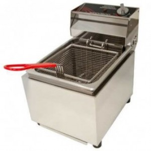 Woodson W.FRS80 Single Pan Fryer - 8 Litres