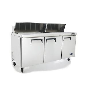 ATOSA MSF8304 Three Door Sandwich Prep Table Refrigerator 1846mm