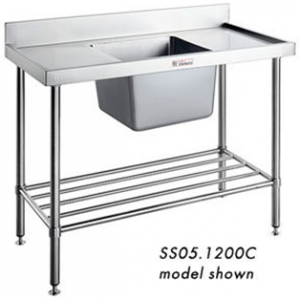 Simply Stainless SS05.7.0600 Single Sink Bench