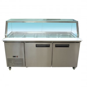 F.E.D Heated Bain Marie Food Display - PG180FE-YG