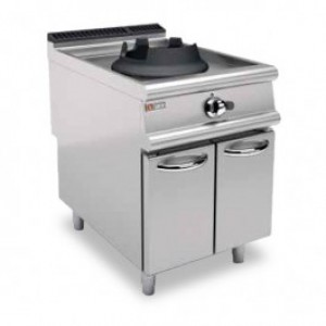Baron 70PCVP/WG614 Single Burner Gas Wok on Cabinet