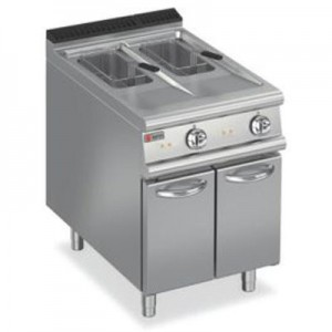 Baron 7FRI/G610 Gas Split Pan Fryer