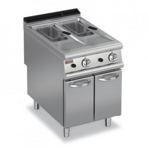 Baron 9FRI/E610 Split Pot Electric Fryer