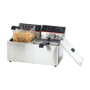 ACE-8L-2 Deep Fryer Double Tank 8Lx2