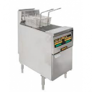 Anets MX14C Open Pot Gas Fryer - Computer Control with Elastic Timers
