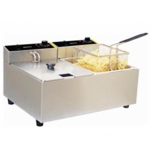 Apuro DL891-A 5Ltr Double Deep Fryer