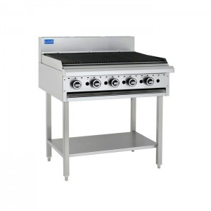 LUUS BCH-9C – 900mm Wide Essentials Chargrill With Shelf