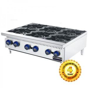 BL-OB6 Azzurro 6 burners Open Cook Top