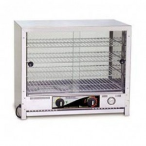 Roband PA50 Square Top Pie & Food Warmers - 50 Pie Capacity
