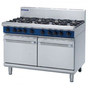 Blue Seal G528D/C/B/A Gas Range - 2 Static Oven