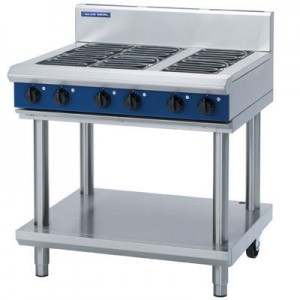 Blue Seal E516D/C/B/A-LS 6 Radiant Elements Cooktop On Leg Stand