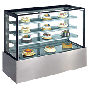Exquisite CDC1200 Cold Cake Display Cabinet
