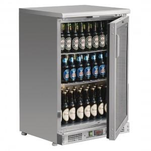 Polar Bar Display Cooler Stainless Steel 104 Bottles
