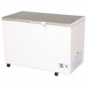 Bromic CF0300FTSS S/Steel Flat Top Chest Freezer - 296 Litre