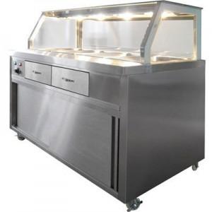 PG210FE-Y Heated Bain Marie Food Display