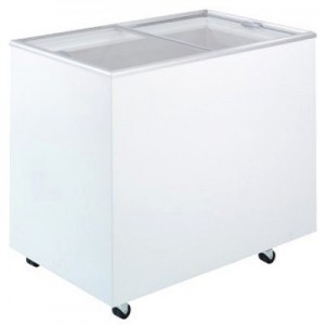 Bromic CF0300FTFG Flat Top/Flat Glass Chest Freezer - 296 Litre