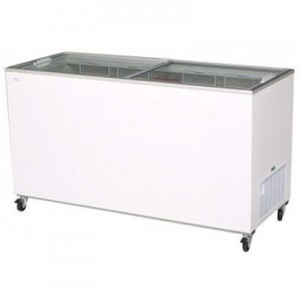 Bromic CF0500FTFG Flat Top/Flat Glass Chest Freezer - 491 Litre