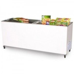 Bromic CF0700FTFG Flat Top/Flat Glass Chest Freezer - 670 Litre