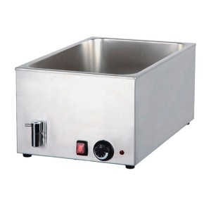 COOKRITE  8710 Bain Marie with Mechanical Controller and Drain 580mm