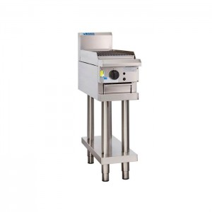 LUUS CS-3C – 300mm Wide Professional Chargrill With Shelf