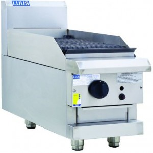 LUUS CS-3C-B – 300mm Wide Benchtop Chargrill Professional Series