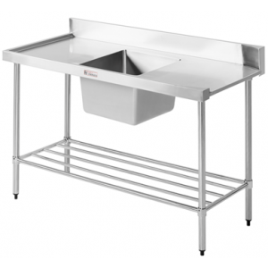 Simply Stainless SS08.7.1200 Dishwasher Inlet Sink Bench