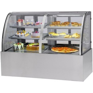 CG150FA/FE-2XB 'CG' Dual Chilled & Heated Display Cabinet