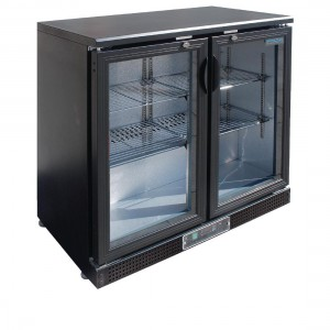 Polar Double Hinge Door Back Bar Cooler-DL816-A