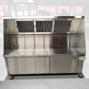 SimcoHood Ductless Exhaust Hood System 1800