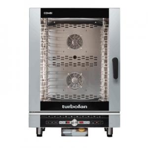 Turbofan EC40D10 Full Size 10 Tray Digital Electric Combi Oven