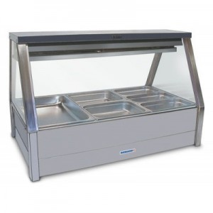 Roband EFX25RD Cold Food Display Bars - Cold Plate & Cross Fin Coil - Piped and Foamed Only
