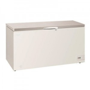 Exquisite ESS650H 650 Litre Stainless Steel Top Chest Freezer