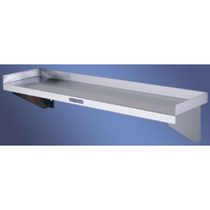 Simply Stainless SS10.1200 Flat Wall Shelf