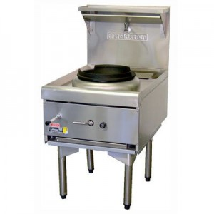 Goldstein CWA1 Air Cooled Gas Wok - Single