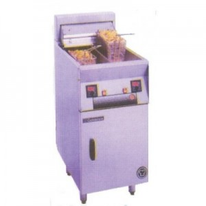 Goldstein FRET-18DL Split Pan Electric Fryer