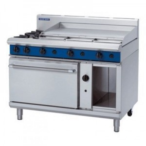 Blue Seal G508D/C/B/A 1200mm Gas Range - Static Oven