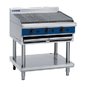 Blue Seal Evolution Series G596-B/LS - 900mm Gas Chargrill