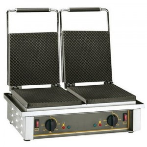 Roller Grill GED 40 Waffle Machine - Double Ice Cream Cones