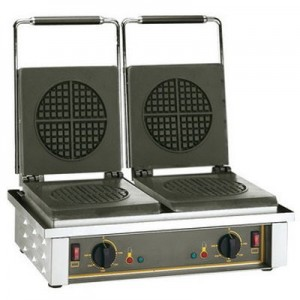 Roller Grill GED 75 Waffle Machine - Double