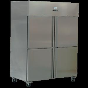 Exquisite Double Door Stainless Steel Freezer GSF1412H - 1497 litres